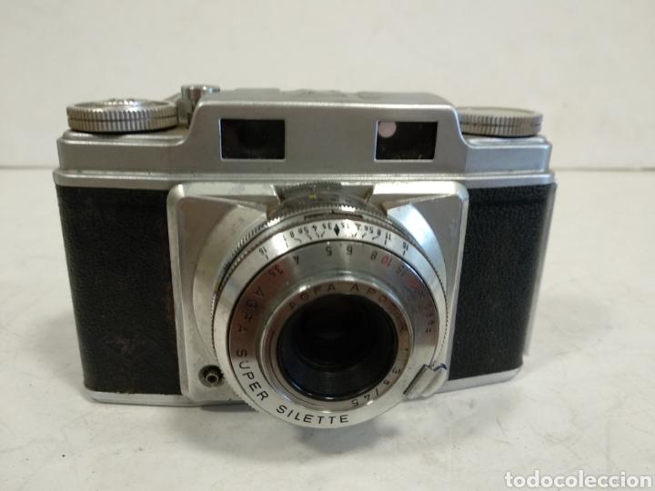 35 MM.AGFA SUPER SILETTE.1955.FUNCIONA (Cámaras Fotográficas - Clásicas (no réflex))