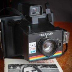 Cámara de fotos: CÁMARA POLAROID AXA 15 CON MANUALES Y GARANTÍA DE LA ÉPOCA,MEDIADOS DE LOS 70. Lote 218118616