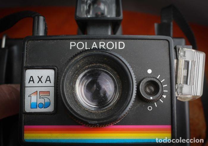 Cámara de fotos: CÁMARA POLAROID AXA 15 CON MANUALES Y GARANTÍA DE LA ÉPOCA,MEDIADOS DE LOS 70 - Foto 2 - 218118616