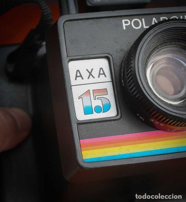Cámara de fotos: CÁMARA POLAROID AXA 15 CON MANUALES Y GARANTÍA DE LA ÉPOCA,MEDIADOS DE LOS 70 - Foto 3 - 218118616