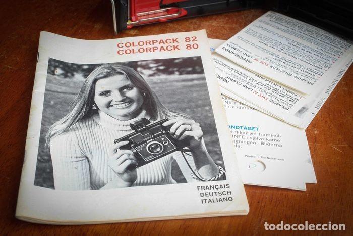 Cámara de fotos: CÁMARA POLAROID AXA 15 CON MANUALES Y GARANTÍA DE LA ÉPOCA,MEDIADOS DE LOS 70 - Foto 13 - 218118616