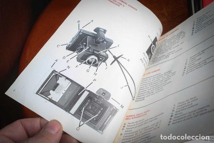 Cámara de fotos: CÁMARA POLAROID AXA 15 CON MANUALES Y GARANTÍA DE LA ÉPOCA,MEDIADOS DE LOS 70 - Foto 14 - 218118616