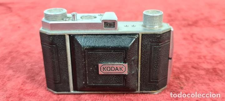 Cámara de fotos: CÁMARA FOTOGRAFICA KODAK RETINA. COMPUR RAPID. FUNDA ORIGINAL. CIRCA 1950. - Foto 9 - 218486801