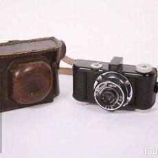 Cámara de fotos: ANTIGUA CÁMARA FOTOGRÁFICA - FOWELL CINEFILM - AÑOS 40-50 - ESPAÑA - MEDIDAS 15 X 7 X 9 CM. Lote 218489737