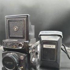 Cámara de fotos: CAMARA YASHICA MAT-124 G CON SU FUNDA ORIGINAL. Lote 219224047