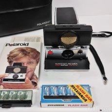 Cámara de fotos: POLAROID SX70 PLEGABLE AUTOFOCO. Lote 220277201