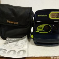 Cámara de fotos: POLAROID 600 .AÑO 2000.COMO NUEVA, FUNCIONA CON FUNDA E INSTRUCCIONES. Lote 220878532