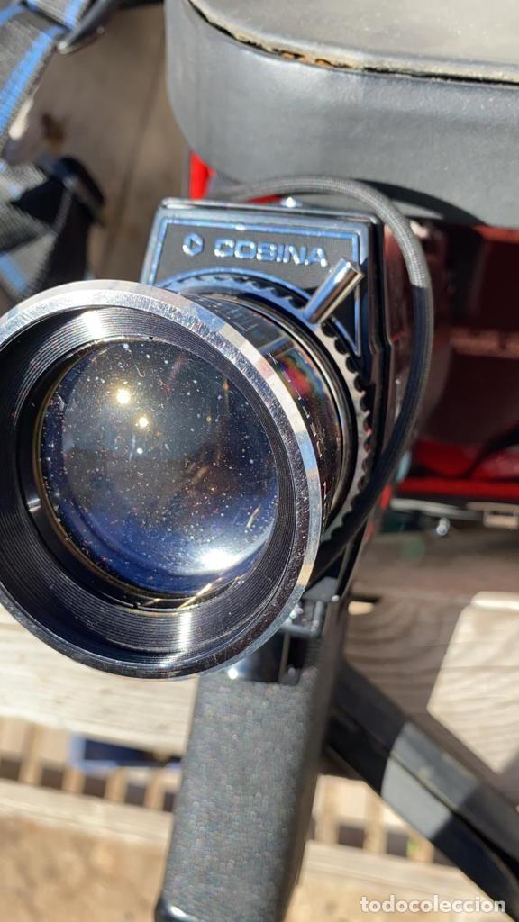 Cámara de fotos: CAMARA ANTIGUA COSINA 738 HI-DELUXE CON FUNDA Y MANUAL - Foto 5 - 221500323