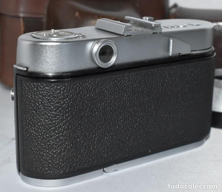 Cámara de fotos: 35 mm, CALIDAD..VOIGTLANDER VITO B+FUNDA+PARASOL+FILTROS, ..ALEMANIA 1957..MUY BUEN ESTADO..FUNCIONA - Foto 17 - 221652930