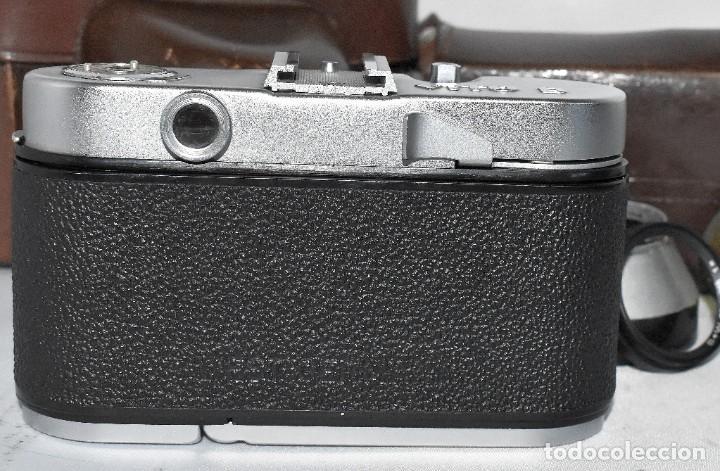 Cámara de fotos: 35 mm, CALIDAD..VOIGTLANDER VITO B+FUNDA+PARASOL+FILTROS, ..ALEMANIA 1957..MUY BUEN ESTADO..FUNCIONA - Foto 18 - 221652930