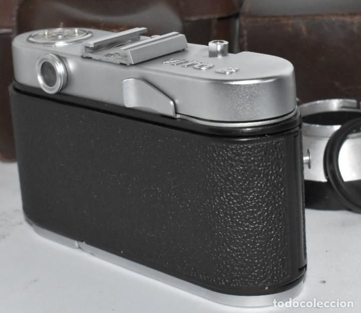 Cámara de fotos: 35 mm, CALIDAD..VOIGTLANDER VITO B+FUNDA+PARASOL+FILTROS, ..ALEMANIA 1957..MUY BUEN ESTADO..FUNCIONA - Foto 19 - 221652930