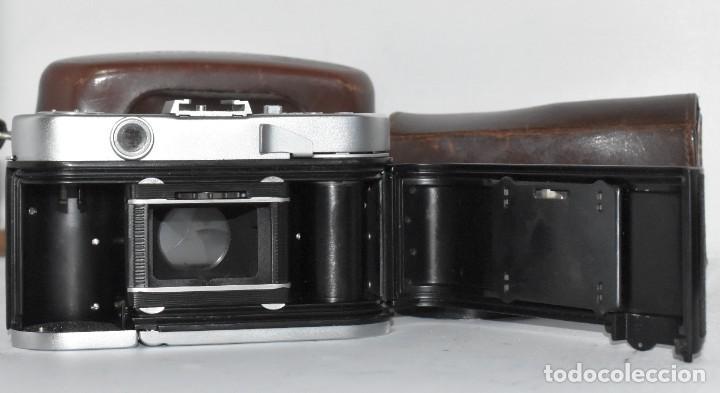 Cámara de fotos: 35 mm, CALIDAD..VOIGTLANDER VITO B+FUNDA+PARASOL+FILTROS, ..ALEMANIA 1957..MUY BUEN ESTADO..FUNCIONA - Foto 27 - 221652930