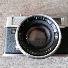 Cámara de fotos: CÁMARA YASHICA 1C LINX 14 E. Lote 221664163