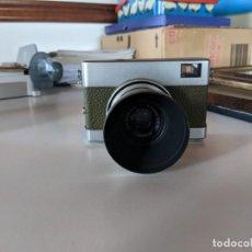 Cámara de fotos: CAMARA AÑOS 60 CARL ZEISS JENA OBJETIVO TESSAT 2.8 /500 POCO FRECUENTE PARASOL INCORPORADO DESMONTAB. Lote 221777238