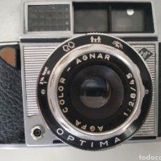 Cámara de fotos: CAMARA DE LOS 60 AGFA ÓPTIMA I. Lote 221783703