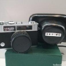 Cámara de fotos: CAMARA DE FOTOS KONICA EE-MATIC DELUXE MAS FUNDA.. Lote 222010872