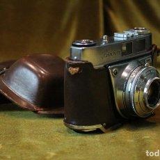 Cámara de fotos: CAMARA FOTOGRAFICA KODAL RETINETTE IA. ESTUCHE ORIGINAL CON SEÑALES DE USO. Lote 222068422