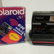Cámara de fotos: POLAROID 636 TALKING CAMERA.1995.FUNCIONA.OFERTA. Lote 222228786