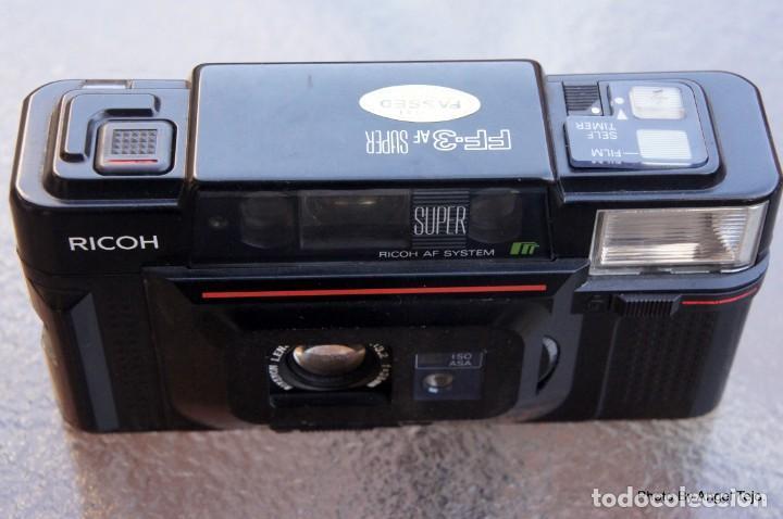 RICOH COMPACTA TELEMETRICA AF.SIMIL YASHICA T3 (Cámaras Fotográficas - Clásicas (no réflex))
