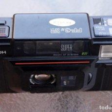 Cámara de fotos: RICOH COMPACTA TELEMETRICA AF.SIMIL YASHICA T3. Lote 222355217