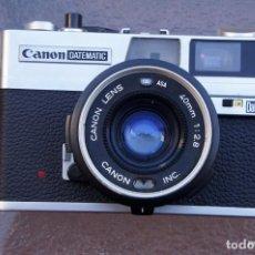 Cámara de fotos: CANON DATEMATIC TELEMÉTRICA .CANON 40 F/2,8. Lote 222356213