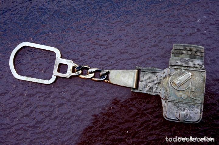 Cámara de fotos: llavero de plata maciza Hasselblad 500CM - Foto 2 - 222365256