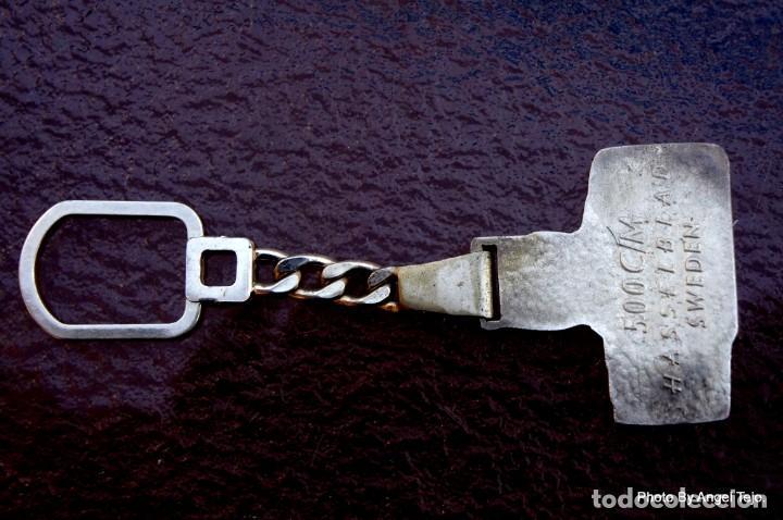 Cámara de fotos: llavero de plata maciza Hasselblad 500CM - Foto 3 - 222365256