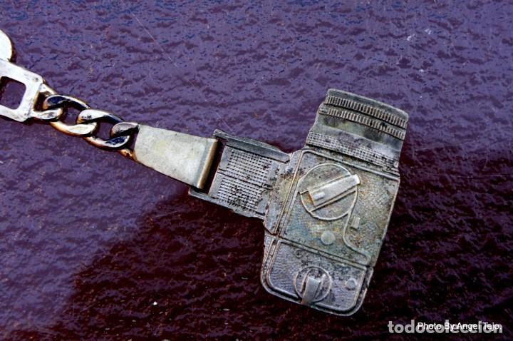 Cámara de fotos: llavero de plata maciza Hasselblad 500CM - Foto 4 - 222365256
