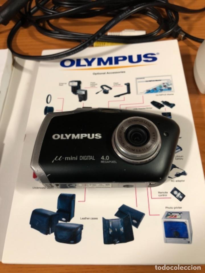 Cámara de fotos: Cámara Olympus mini - Foto 3 - 222377470