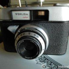 Cámara de fotos: CAMARA FOTOGRAFICA WERLISA COLOR DE LOS AÑOS 70. Lote 222394386