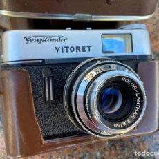 Cámara de fotos: CAMARA VITORET PRONTOR 125. Lote 222432983