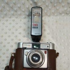 Cámara de fotos: CAMARA DE FOTO WERLISA - COLOR , CON ESTUCHE DE CUERO ORIGINAL Y FLASH. CERTEX. AÑOS 60. Lote 222619427