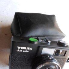 Cámara de fotos: CAMARA FOTOGRAFICA WERLISA CLUB COLOR DE LOS AÑOS 70. Lote 222845166