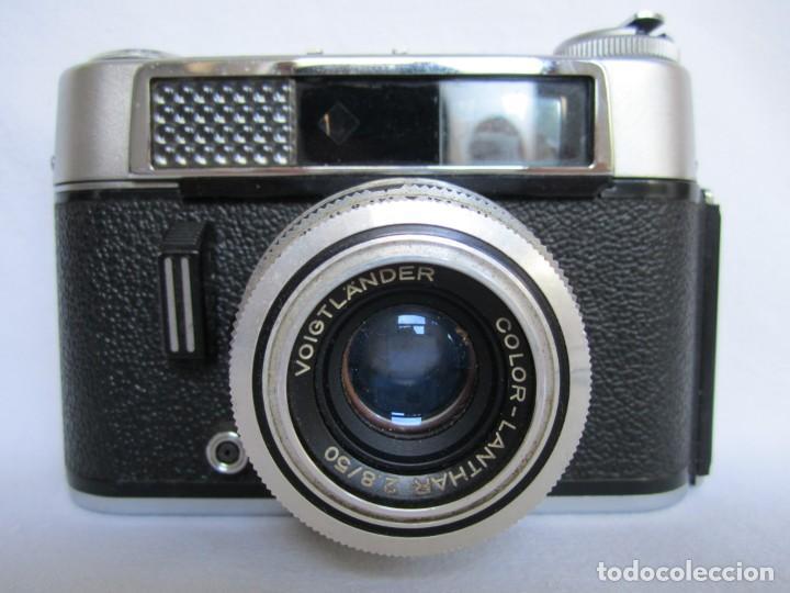 Cámara de fotos: Cámara Voigtländer-Vitoret DR-35 mm. Lanthar 2.8/50 - Años 60 - Foto 9 - 223244978