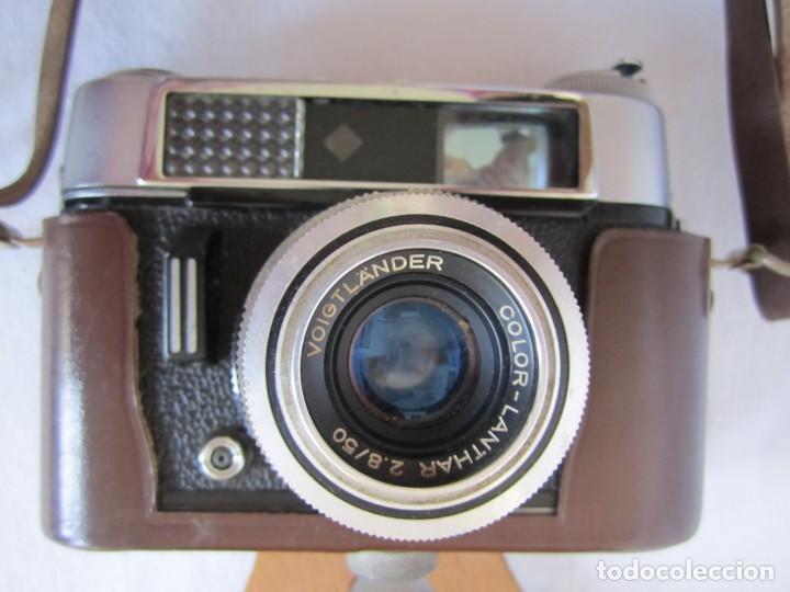 Cámara de fotos: Cámara Voigtländer-Vitoret DR-35 mm. Lanthar 2.8/50 - Años 60 - Foto 2 - 223244978