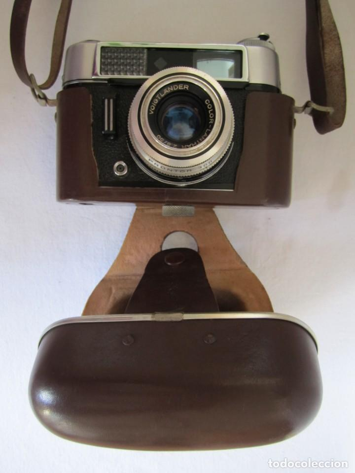 Cámara de fotos: Cámara Voigtländer-Vitoret DR-35 mm. Lanthar 2.8/50 - Años 60 - Foto 3 - 223244978