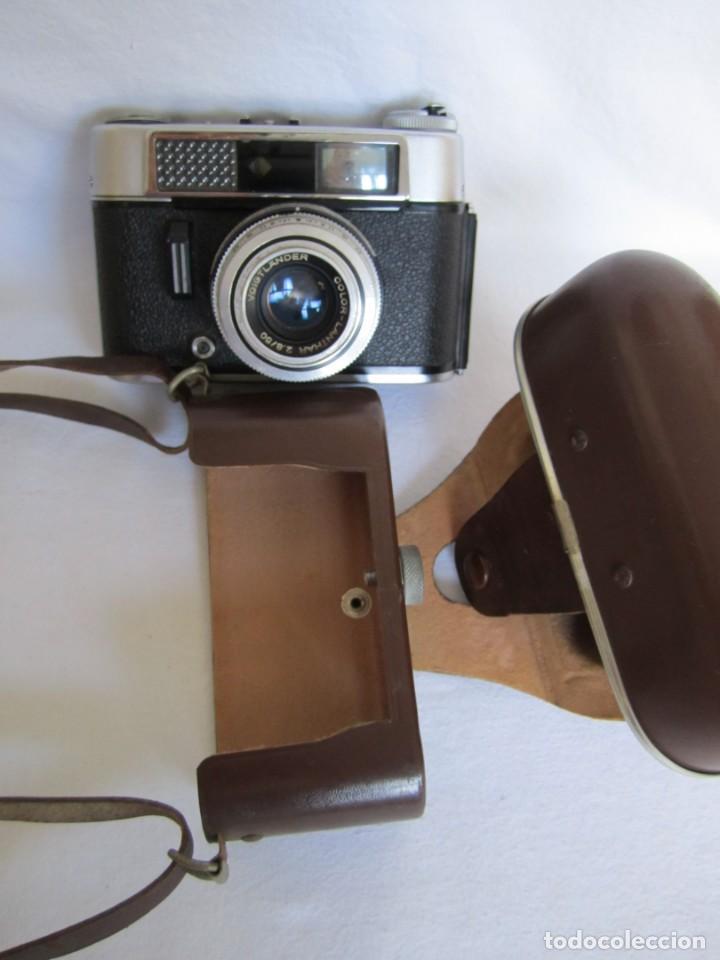 Cámara de fotos: Cámara Voigtländer-Vitoret DR-35 mm. Lanthar 2.8/50 - Años 60 - Foto 4 - 223244978