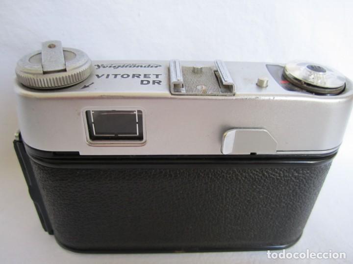 Cámara de fotos: Cámara Voigtländer-Vitoret DR-35 mm. Lanthar 2.8/50 - Años 60 - Foto 5 - 223244978