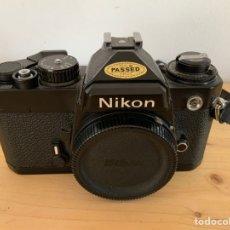 Appareil photos: CAMARA NIKON FE IMPECABLE. Lote 224413370