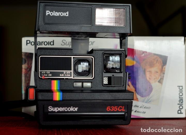 Cámara de fotos: CÁMARA POLAROID 635 CL supercolor , EXCELENTE ESTADO, CON CAJA ORIGINAL Y MANUAL - Foto 2 - 224866792