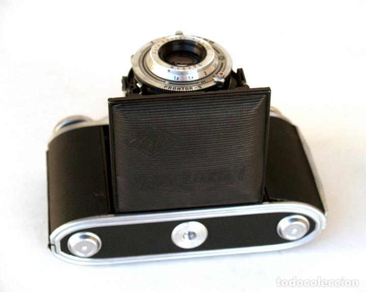 Cámara de fotos: *c1955* • Agfa ISOLETTE III Telemétrica Apotar f4.5 • Prontor-S, Excelente estado, formato medio 6x6 - Foto 4 - 225907985