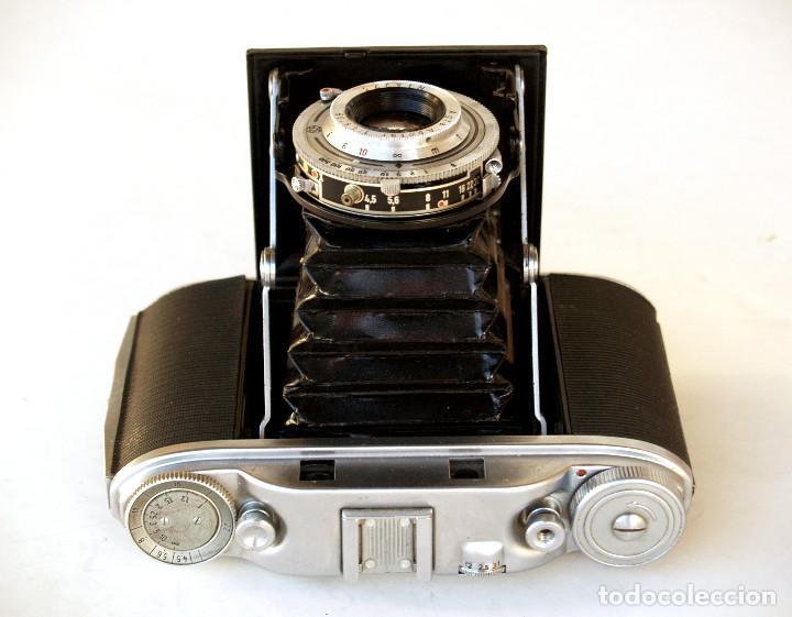 Cámara de fotos: *c1955* • Agfa ISOLETTE III Telemétrica Apotar f4.5 • Prontor-S, Excelente estado, formato medio 6x6 - Foto 2 - 225907985