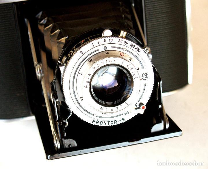 Cámara de fotos: *c1955* • Agfa ISOLETTE III Telemétrica Apotar f4.5 • Prontor-S, Excelente estado, formato medio 6x6 - Foto 5 - 225907985