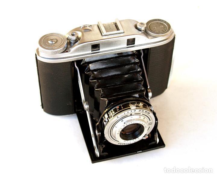 *C1955* • AGFA ISOLETTE III TELEMÉTRICA APOTAR F4.5 • PRONTOR-S, EXCELENTE ESTADO, FORMATO MEDIO 6X6 (Cámaras Fotográficas - Clásicas (no réflex))