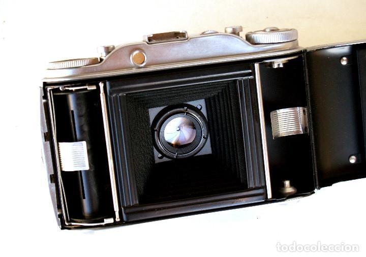 Cámara de fotos: *c1955* • Agfa ISOLETTE III Telemétrica Apotar f4.5 • Prontor-S, Excelente estado, formato medio 6x6 - Foto 3 - 225907985