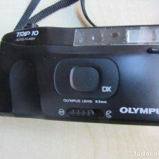 Fotocamere: CÁMARA DE FOTOS OLYMPUS 10 AUTO FLASH DX SISTEM LENS 33 MM. Lote 225960415