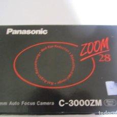 Cámara de fotos: CAMARA FOTOGRAFICA PANASONIC ZOOM 28 35 MM. AUTOFOCUS SIN ESTRENAR CON CAJA Y MANUAL. Lote 226076851