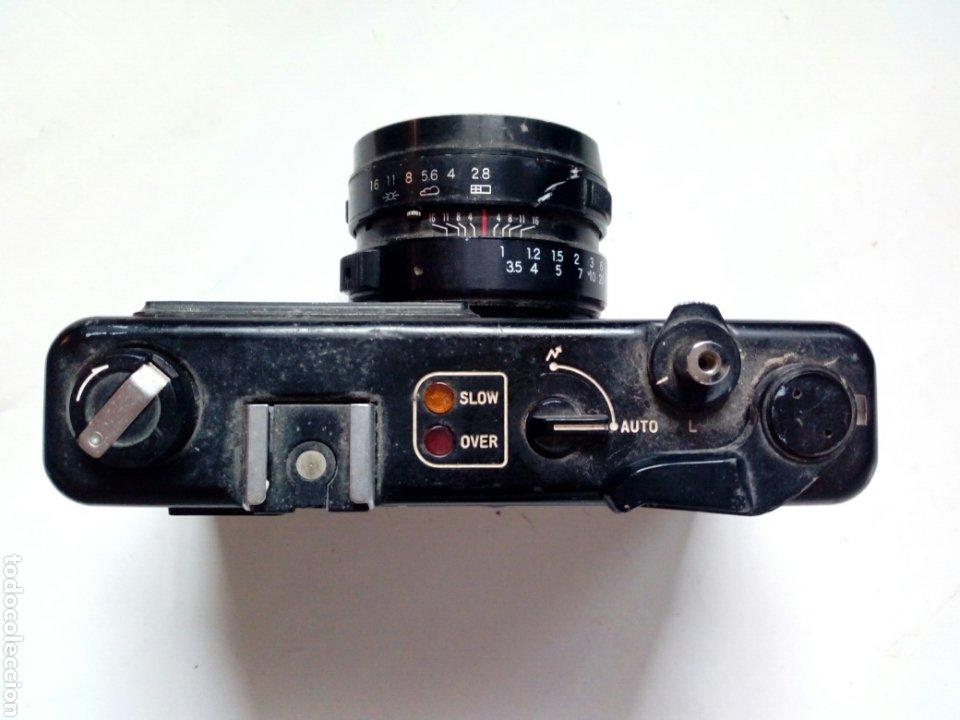 Cámara de fotos: (Para piezas) YASHICA MG-1 ELECTRO (cámara telemétrica / rangefinder) - NO FUNCIONA - 35mm 135 - Foto 2 - 226095860