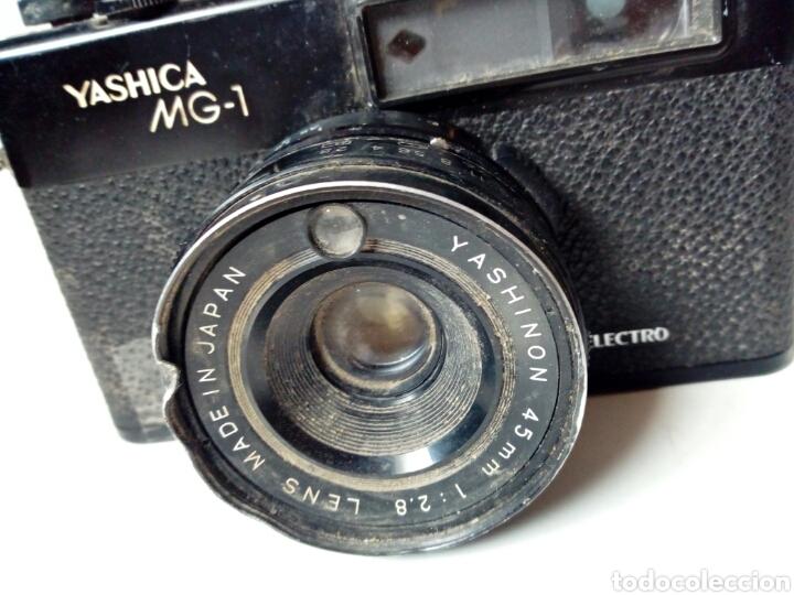 Cámara de fotos: (Para piezas) YASHICA MG-1 ELECTRO (cámara telemétrica / rangefinder) - NO FUNCIONA - 35mm 135 - Foto 5 - 226095860