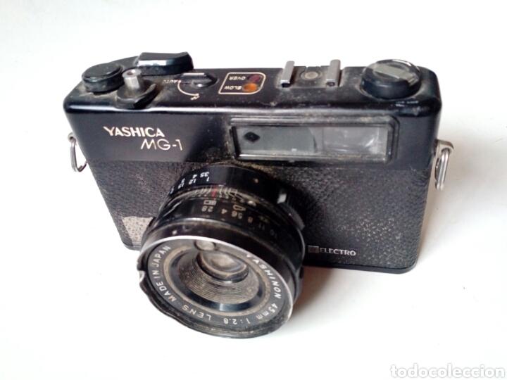 (PARA PIEZAS) YASHICA MG-1 ELECTRO (CÁMARA TELEMÉTRICA / RANGEFINDER) - NO FUNCIONA - 35MM 135 (Cámaras Fotográficas - Clásicas (no réflex))